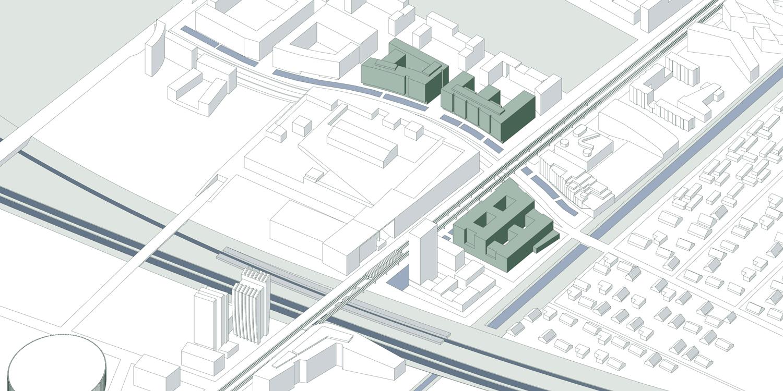 Ørestad map