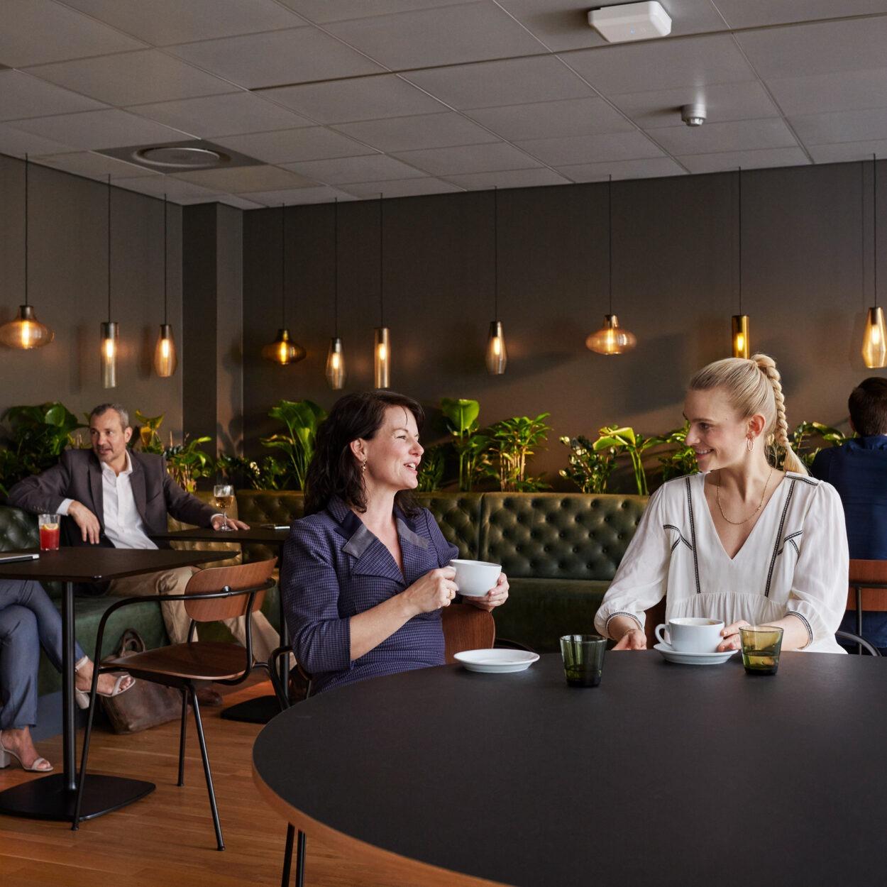 HUB2 lounge og restaurant