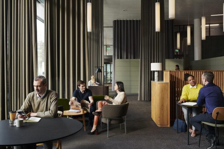 Lounge i HUB3 HUBNORDIC