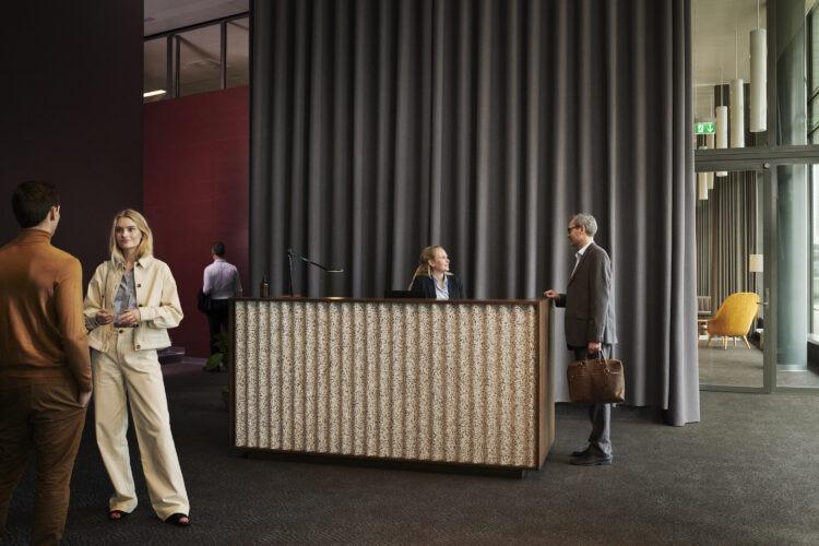 Kontorfaciliteter - Reception i HUBNORDIC