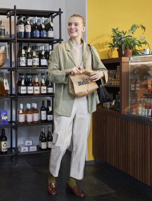 Marked hos Cafe Nabo i Ørestad